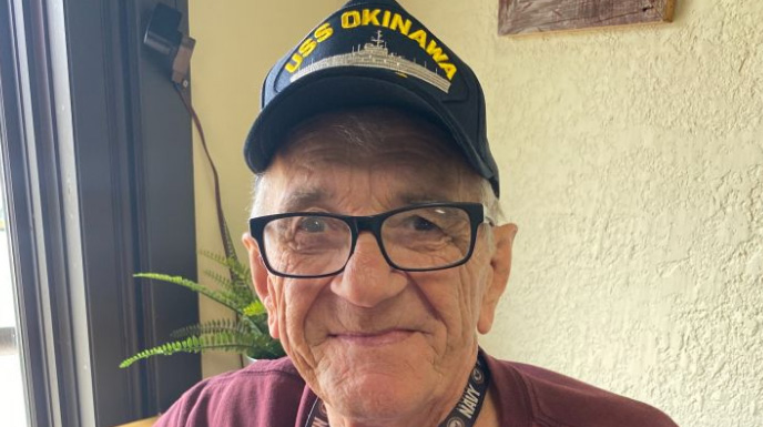 Veteran, 79, Cries After Learning Strangers Bought Him A New Scooter