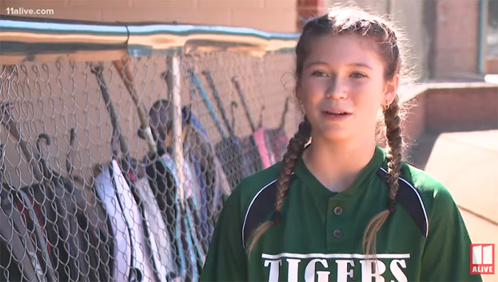 JV Softball Player Pitches For Opposing Team After Their Pitcher Gets Sick