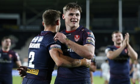 St Helens' Welsby relishes facing idol Tomkins in bid for Grand Final repeat